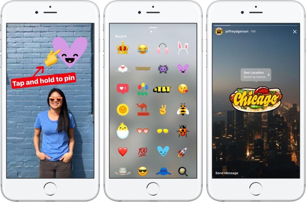 optimizar las stories de Instagram: stickers