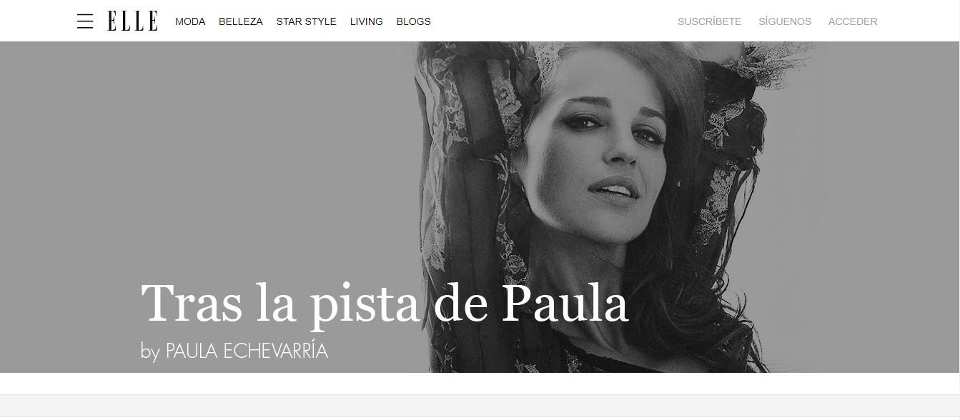 influencers con más seguidores en la generación Z: Paula Echevarría