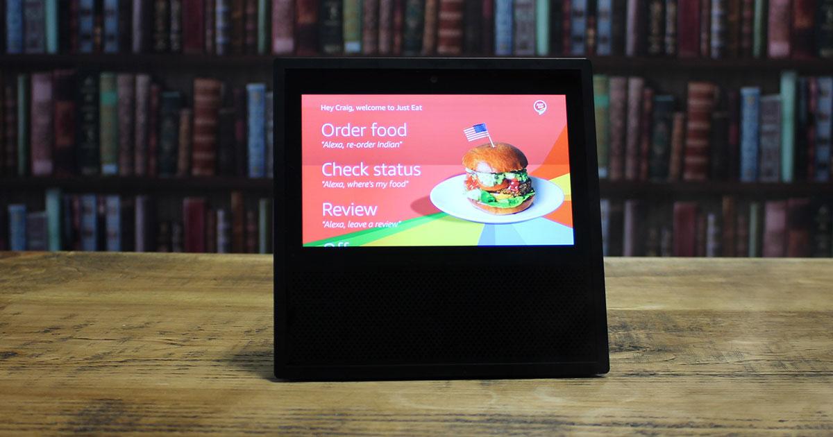 Amazon Alexa - Just Eat
