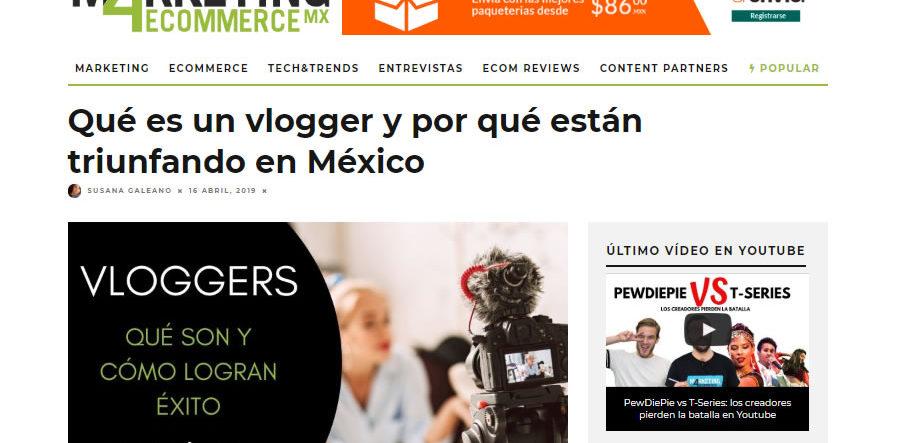 blogs de content marketing de México