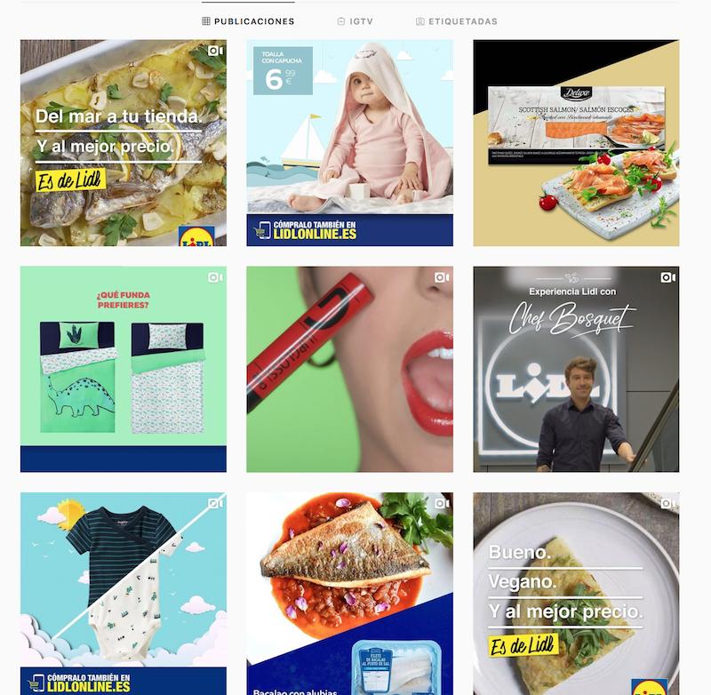 redes sociales en el sector de la alimentación