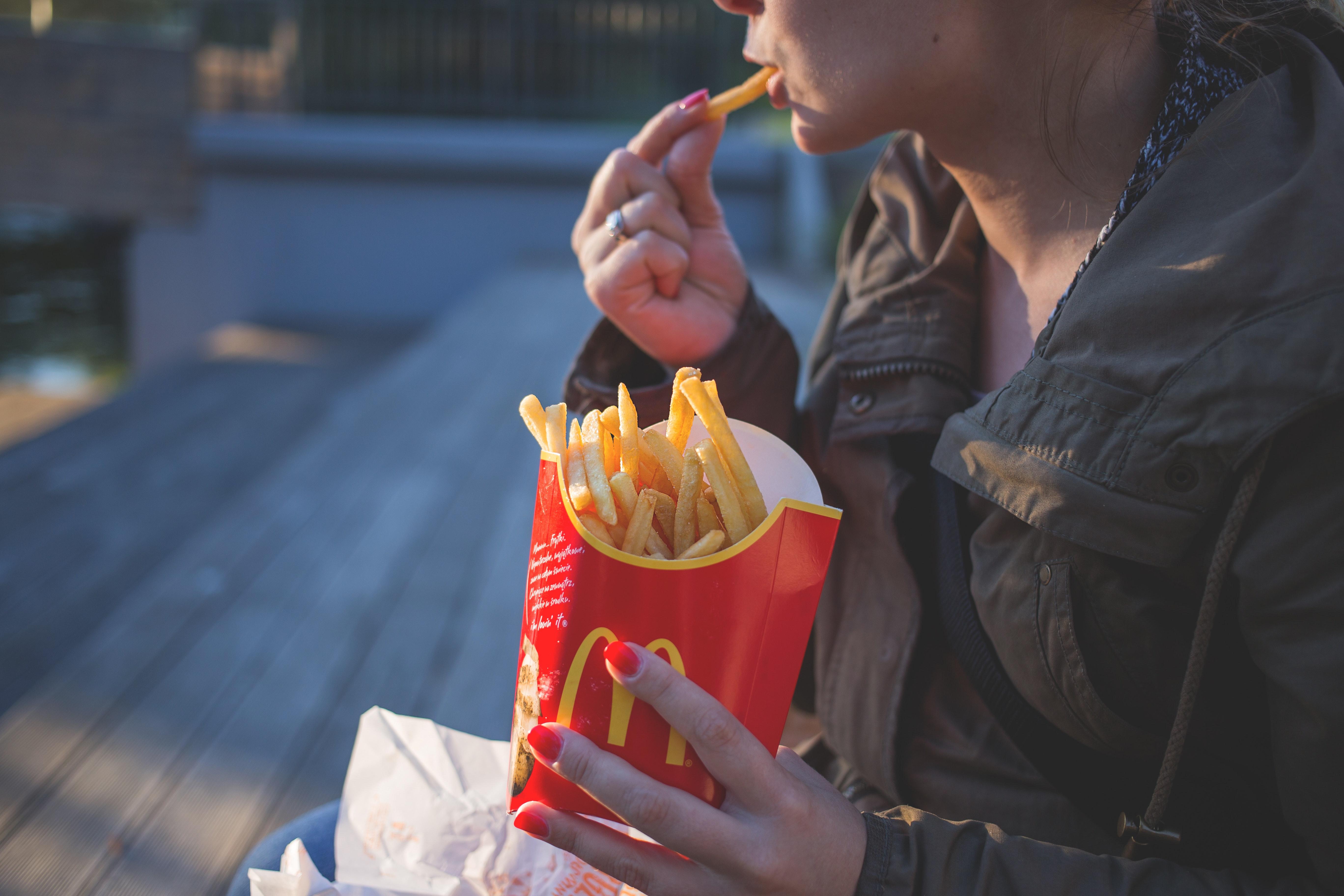 qué es el upselling: McDonalds