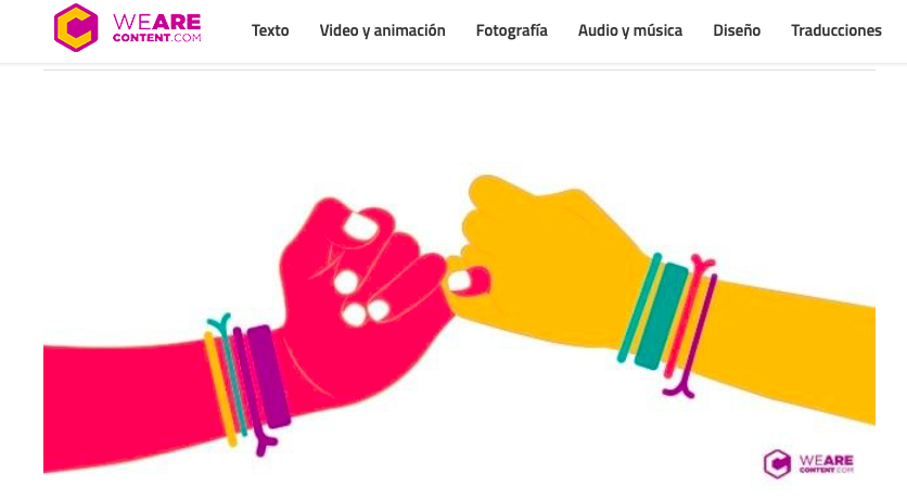blogs de content marketing de México: We are content