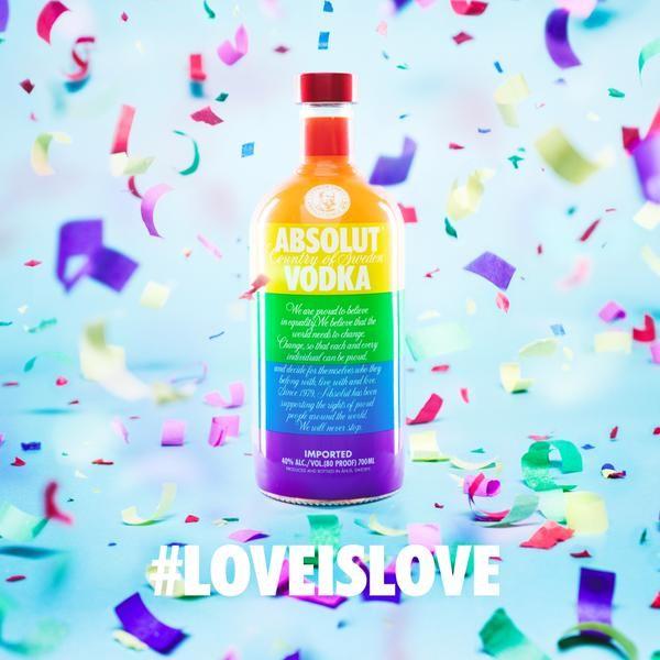 Absolut vodka love wins
