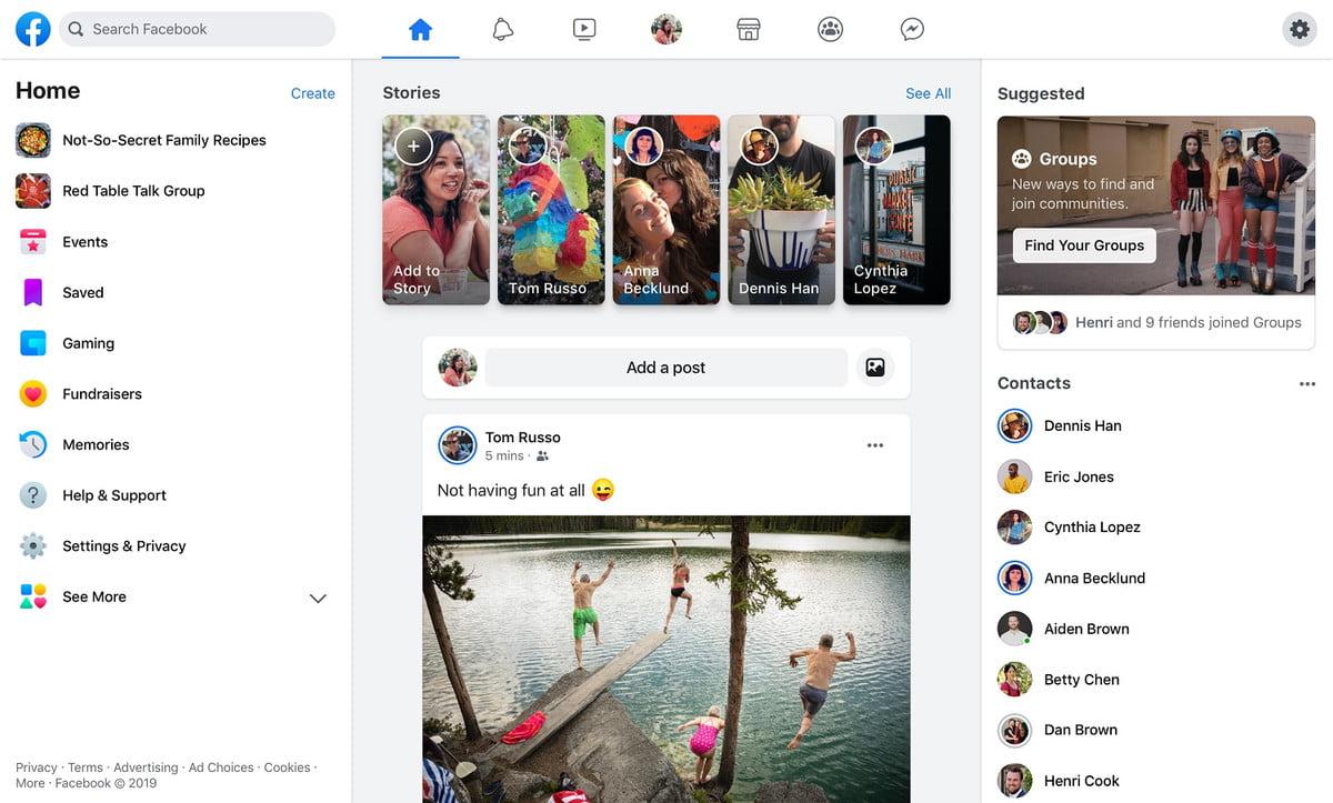 Grupos en Facebook, privacidad