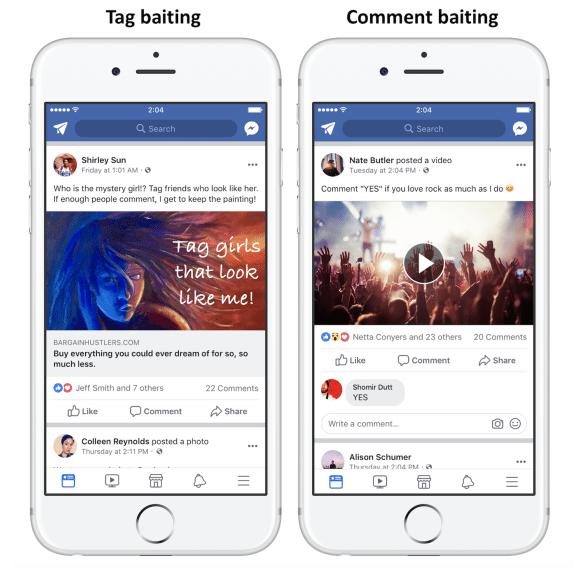 Nuovo algoritmo di Facebook