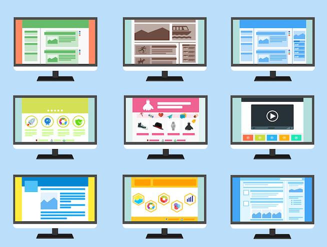 promocionar página web graficos