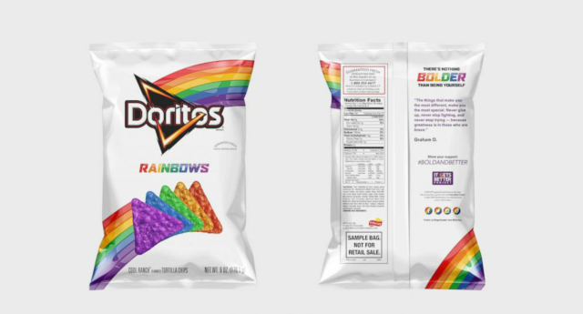 Marcas Gay Friendly: Doritos Rainbow