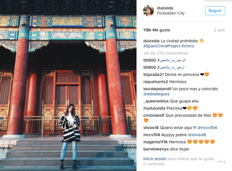 influencers eligen el destino de tus vacaciones china