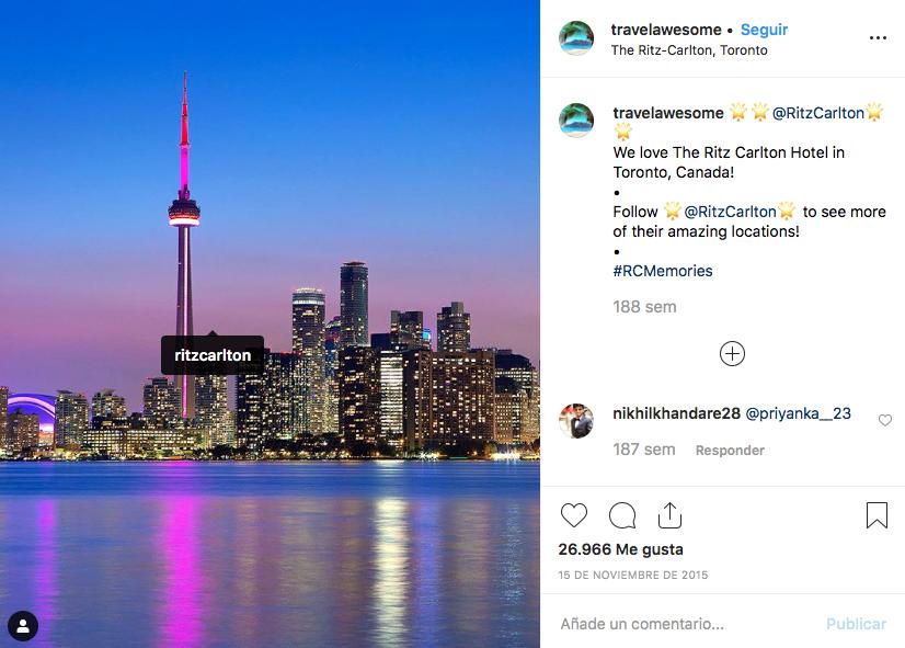 influencers eligen el destino de tus vacaciones Ritz