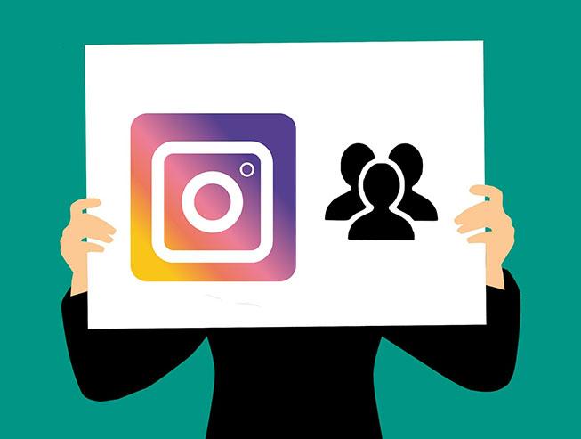 chat de grupo de Instagram