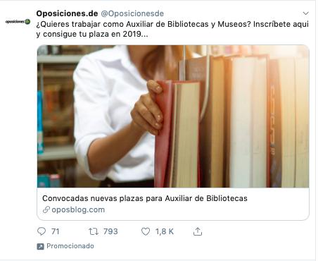 campañas en twitter ads