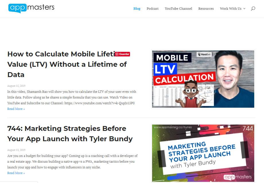 blogs sobre App Marketing: App Masters