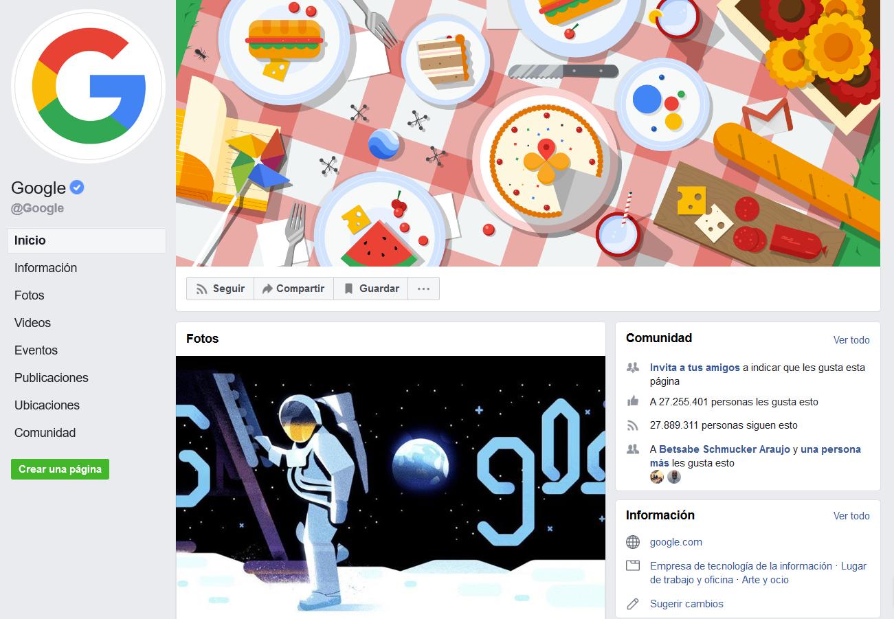 Marcas más amadas en redes sociales: Google