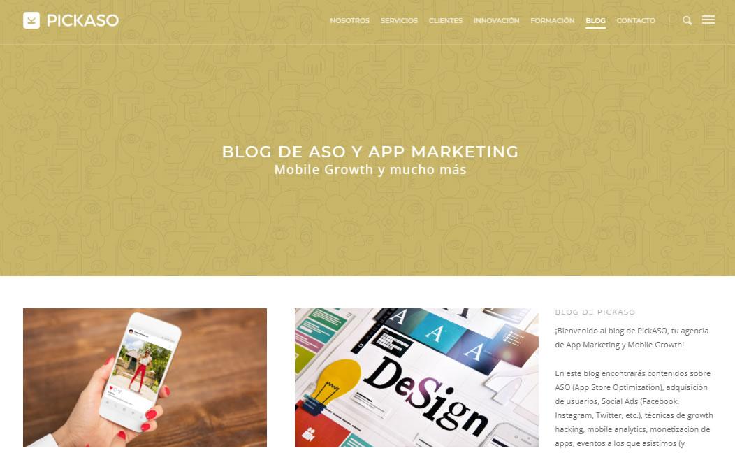 blogs sobre App Marketing: Pickaso