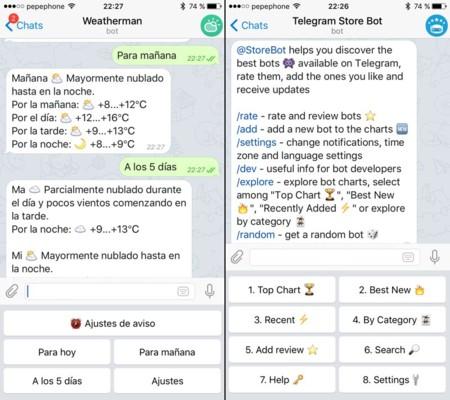 Telegram para promocionar contenidos: bots