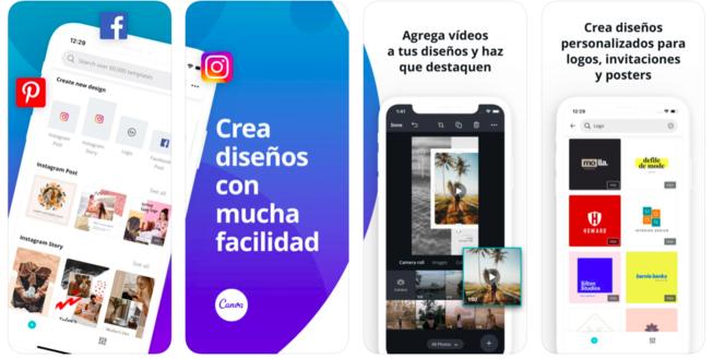 Herramientas para Instagram stories: Canva