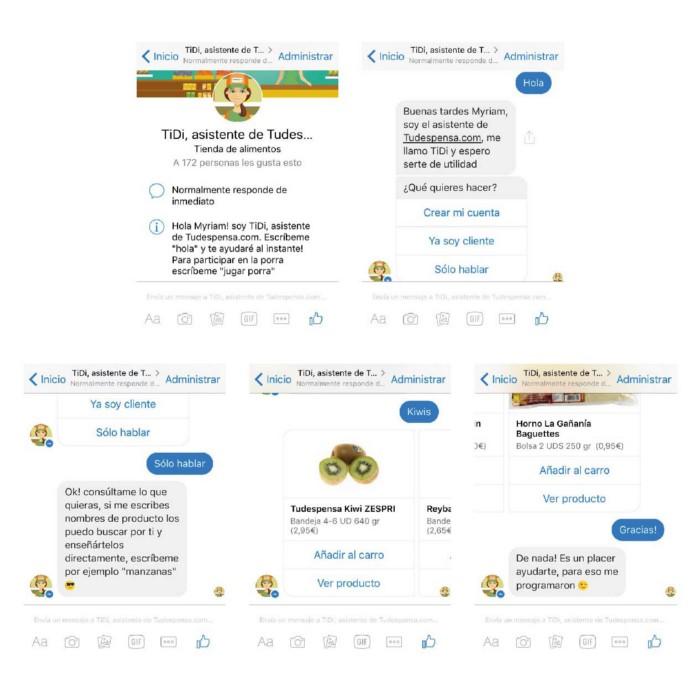copywriting para chatbots en español