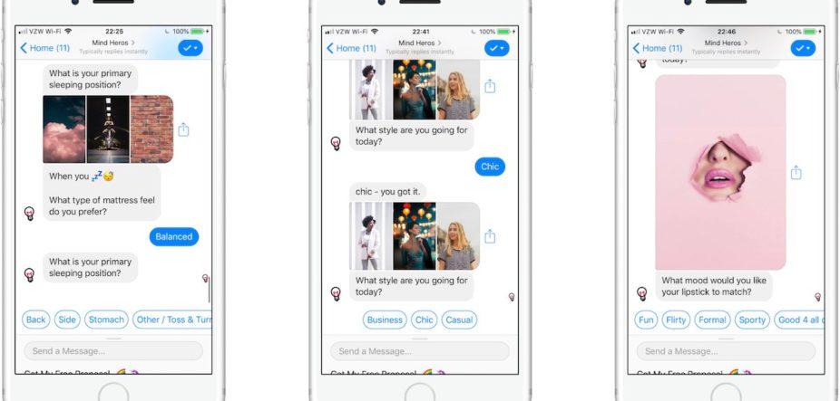 copywriting para chatbots