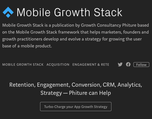 blogs sobre App Marketing: Mobile Growth Stack
