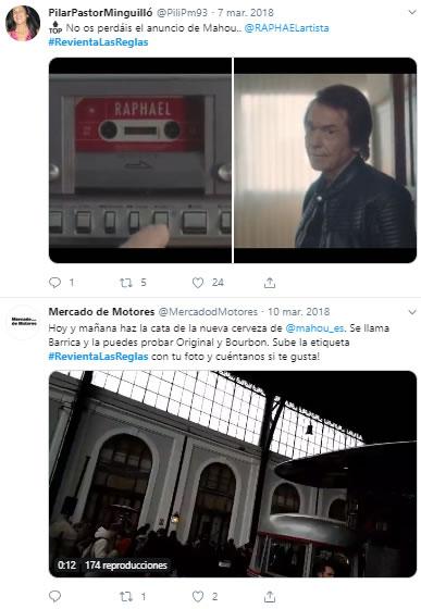 hashtag #RevientaLasReglas,