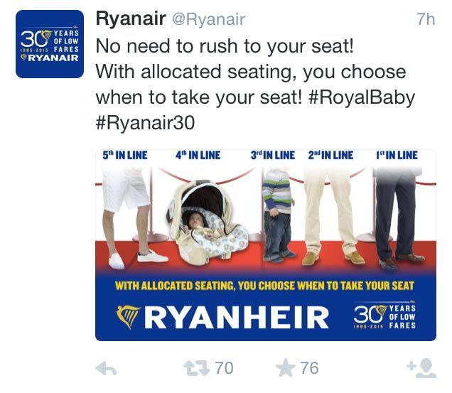 newsjacking en tu estrategia de marketing: RyanAir