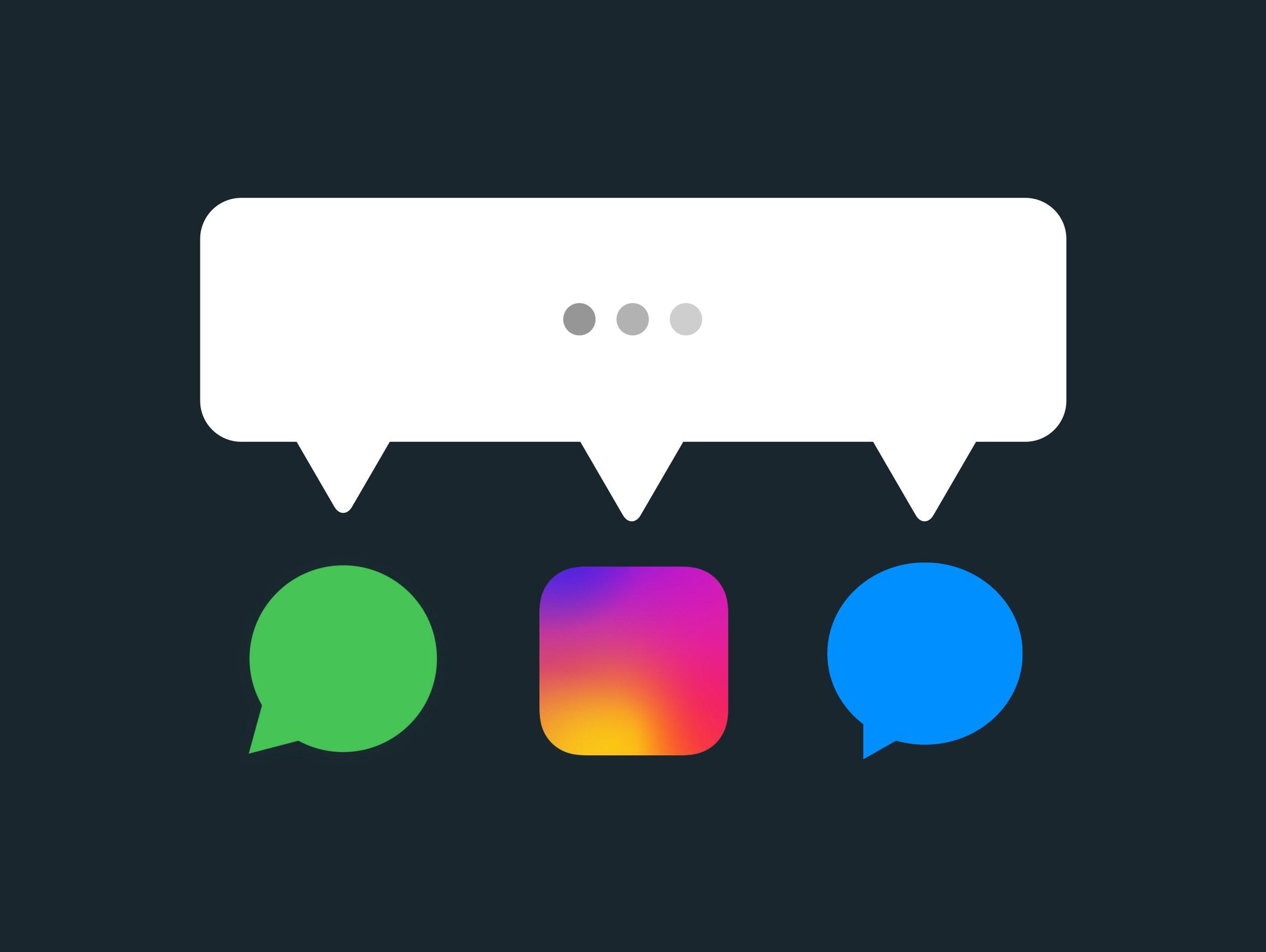 Instagram y WhatsApp: cross data