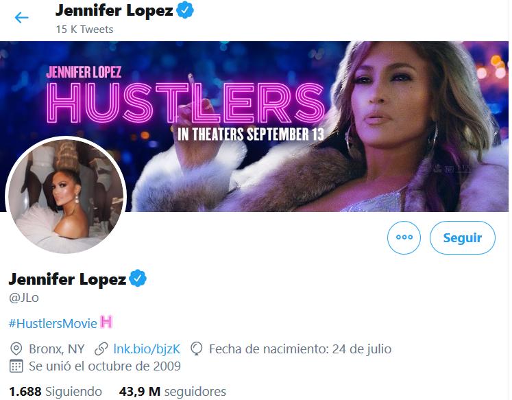 Jennifer Lopez Twitter