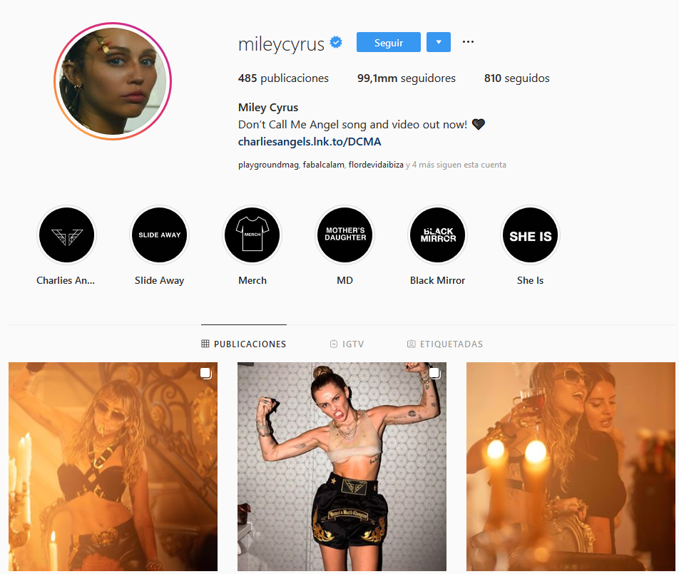 Celebrities con más seguidores falsos: Miley Cyrus