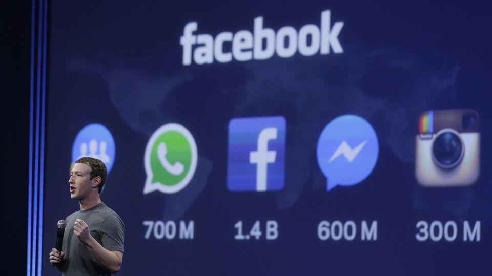 Instagram y WhatsApp de Facebook