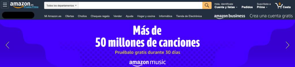buscador Amazon
