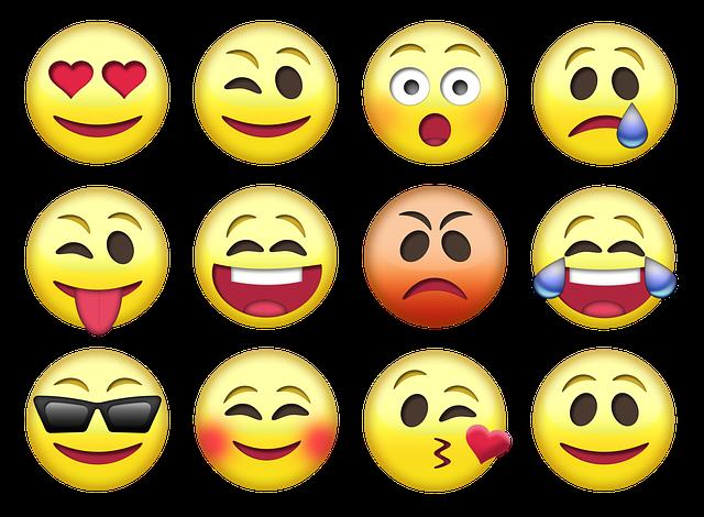 emojis más usados en todo el mundo