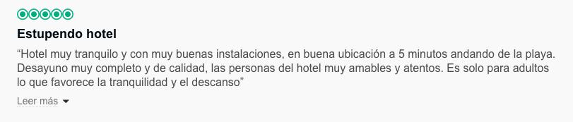 reseña hotel