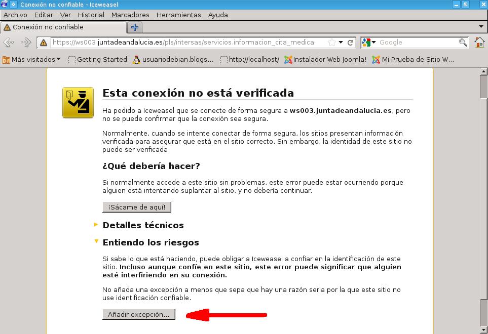 Seguridad del hosting