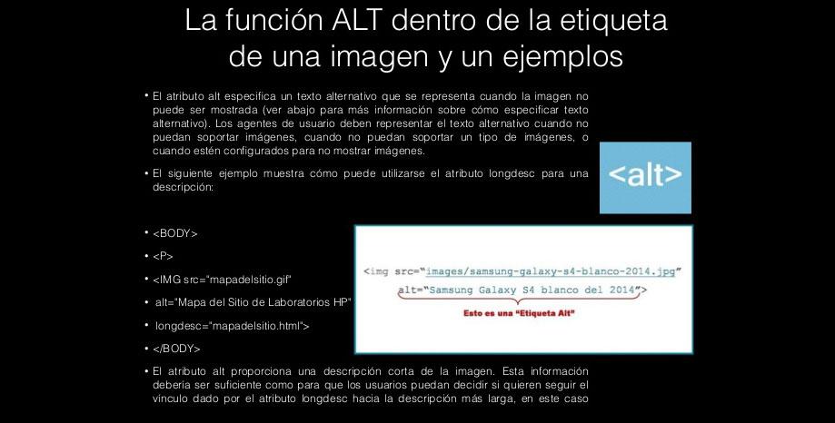 Etiqueta ALT para imágenes: SEO