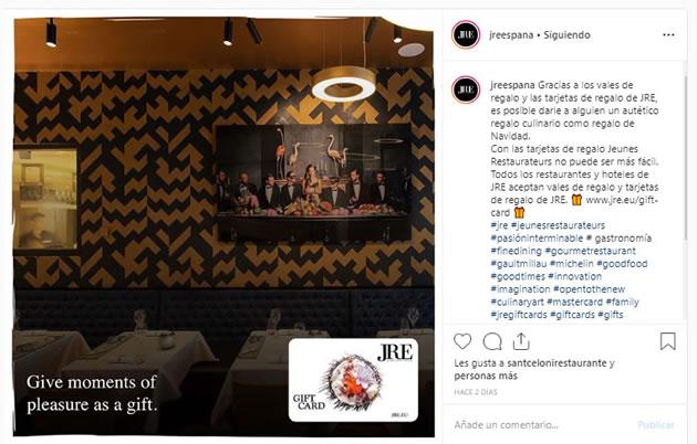 Copywriting para Instagram: JRE