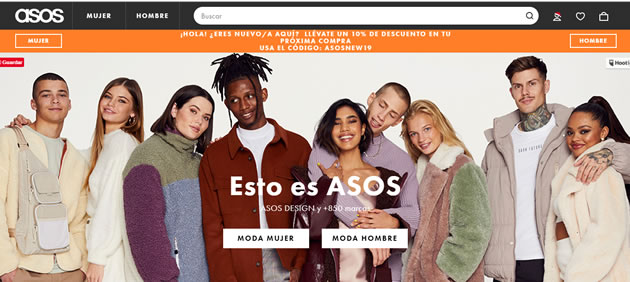 Qué es la User Interface: Asos