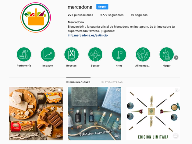 instagram mercadona
