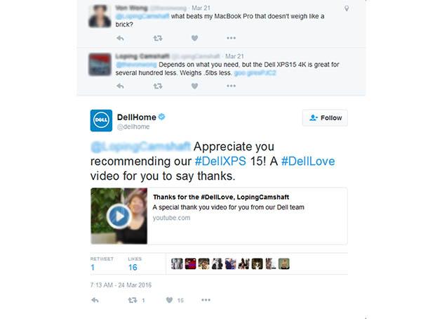 respuestas en redes sociales