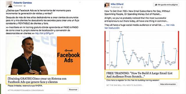 titolo dell'annuncio Facebook Lead Ads