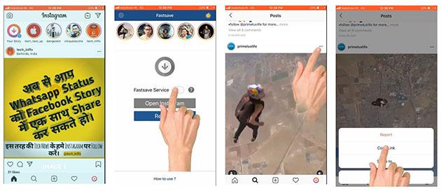 5 apps para descargar vídeos de Instagram: Fast Save