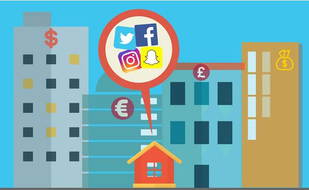 redes sociales en pymes