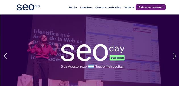 Eventos SEO en Latam en 2020: SEODay Argentina