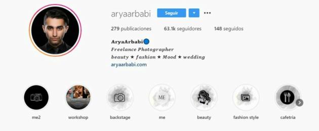 Biografía de Arya Arbabi