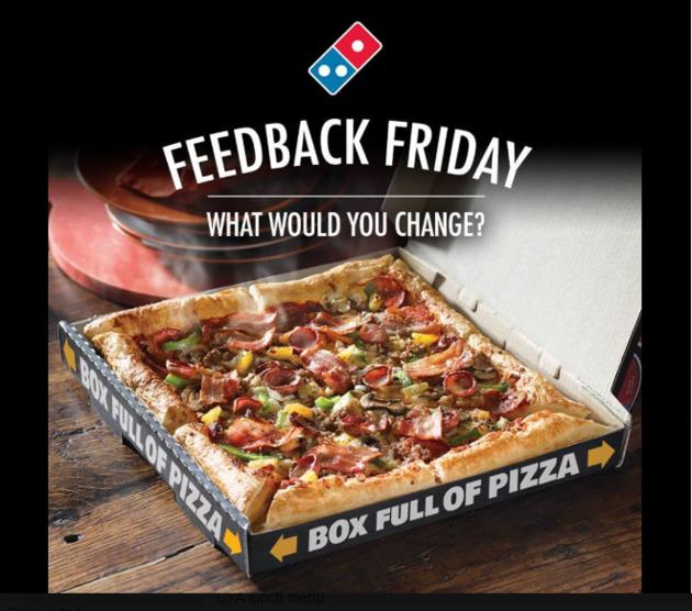 Retailers con más seguidores en redes sociales: Domino's Pizza