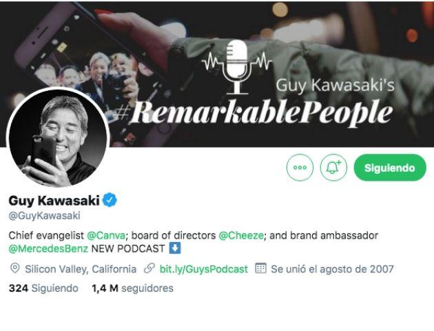 expertos en Branded Content: Guy Kawasaki