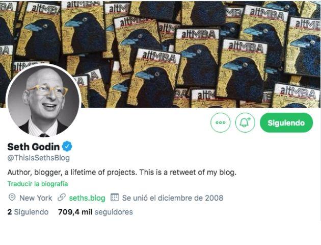 expertos en Branded Content: Seth Godin