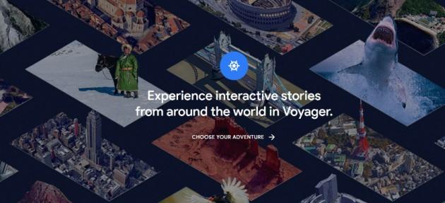 Crear mapas e historias con Earth