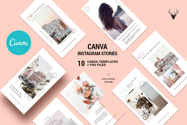 Canva: Templates para Instagram Stories
