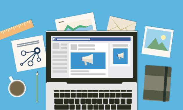 Promoción de curso online en Facebook